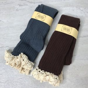 5/$25 NWT two pairs of tall boot socks